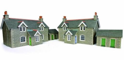 Metcalfe #PO255 OO/HO Workers Cottages
