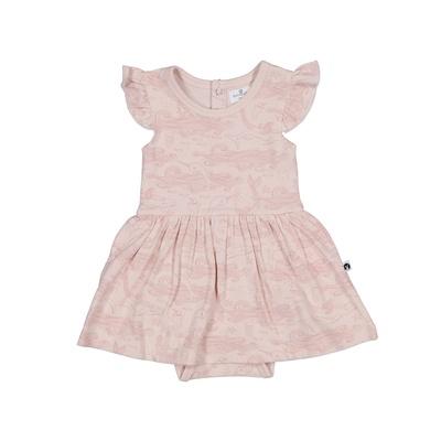 MERMAID LIFE BABY DRESS BODYSUIT