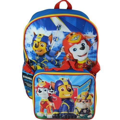 PAW PATROL BACKPACK WITH LUNCH KIT 16''