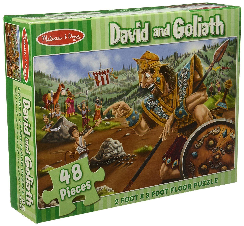 MD 4494 DAVID & GOLIATH FLOOR PUZZLE