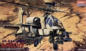 Academy #12262 1/48 Apache AH-64A (MSIP)