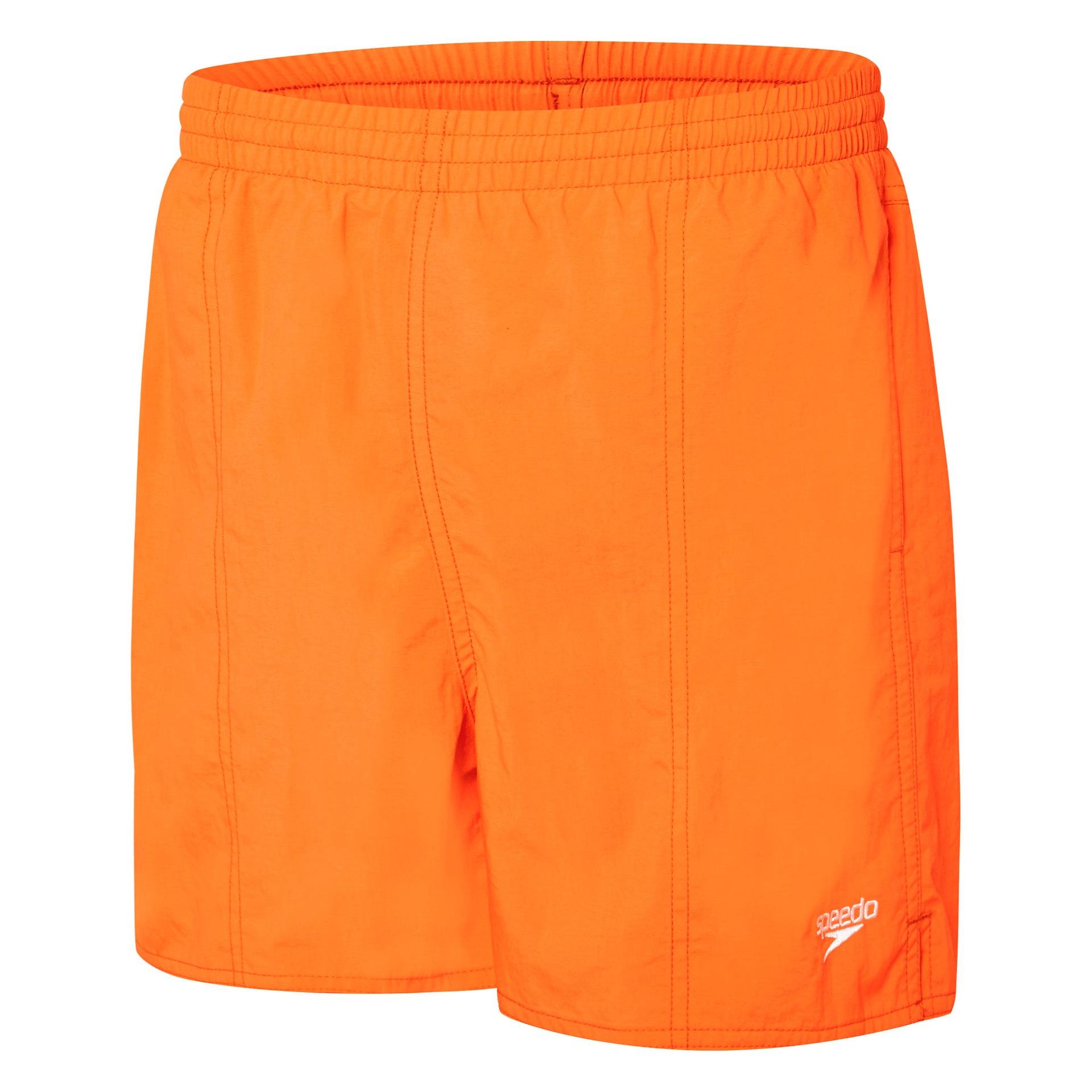 Boys Solid Leisure Vivid Orange
