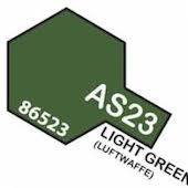 Tamiya Colour Spray Paint #86523 AS-23 Light Green (Luffwaffe)