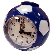 REAL MADRID F.C. FOOTBALL ALARM CLOCK