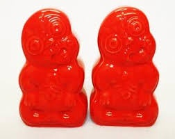 TIKI SALT & PEPPER - RED