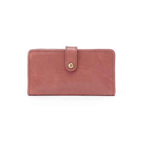 HOBO - TORCH WALLET IN BURNISHED ROSE