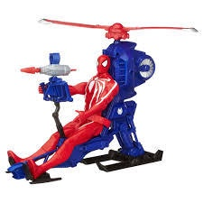 SPIDER-MAN TITAN HERO SERIES WITH WEB COPTER