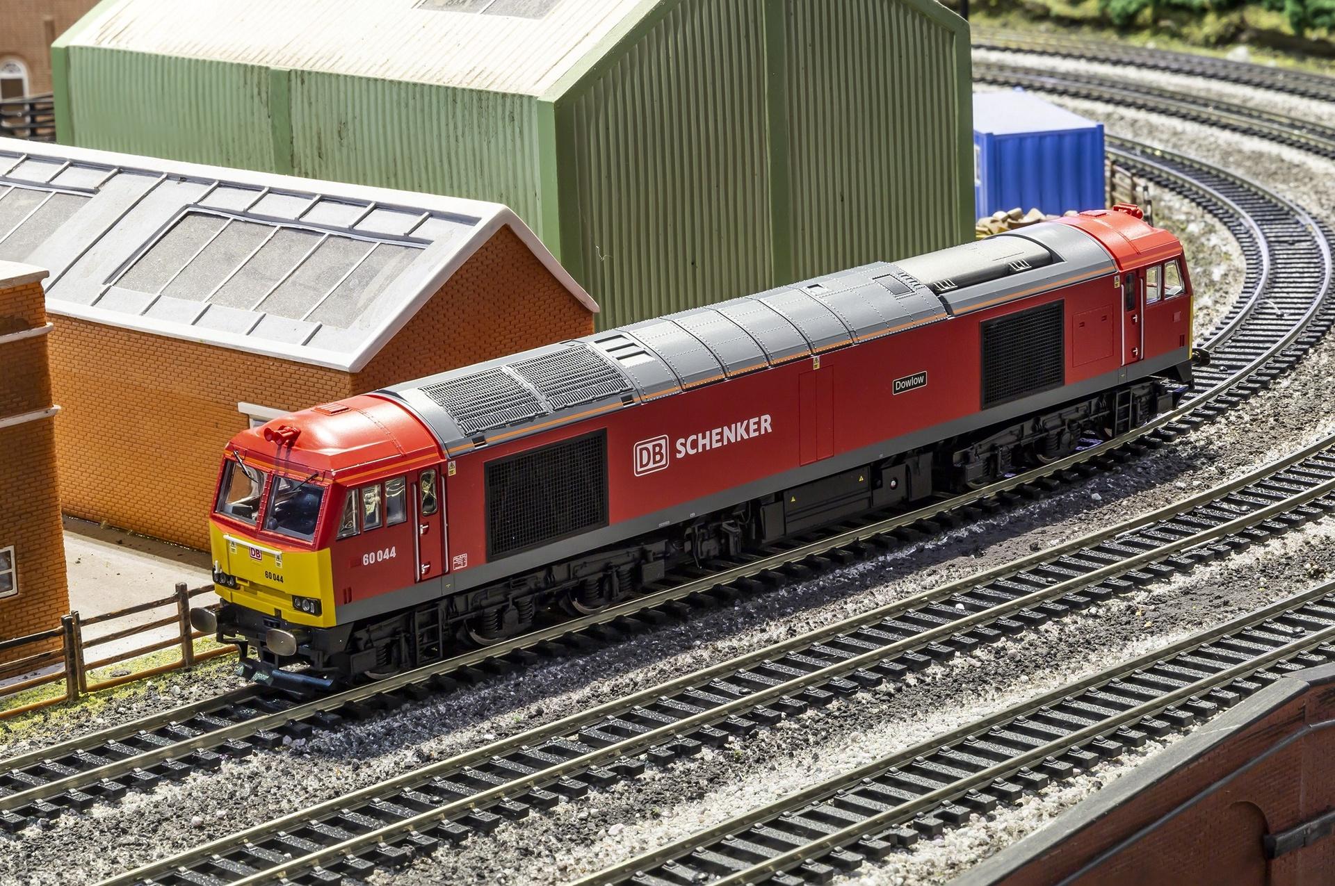 Hornby #R3605TTS DB Schenker Class 60 'DowLo'