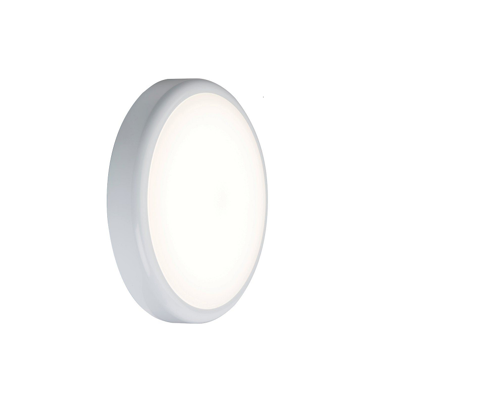 230V IP44 9W Trade LED Flush 6000K (256mm)