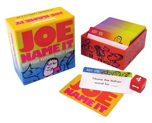 JOE NAME IT PARTY GAME