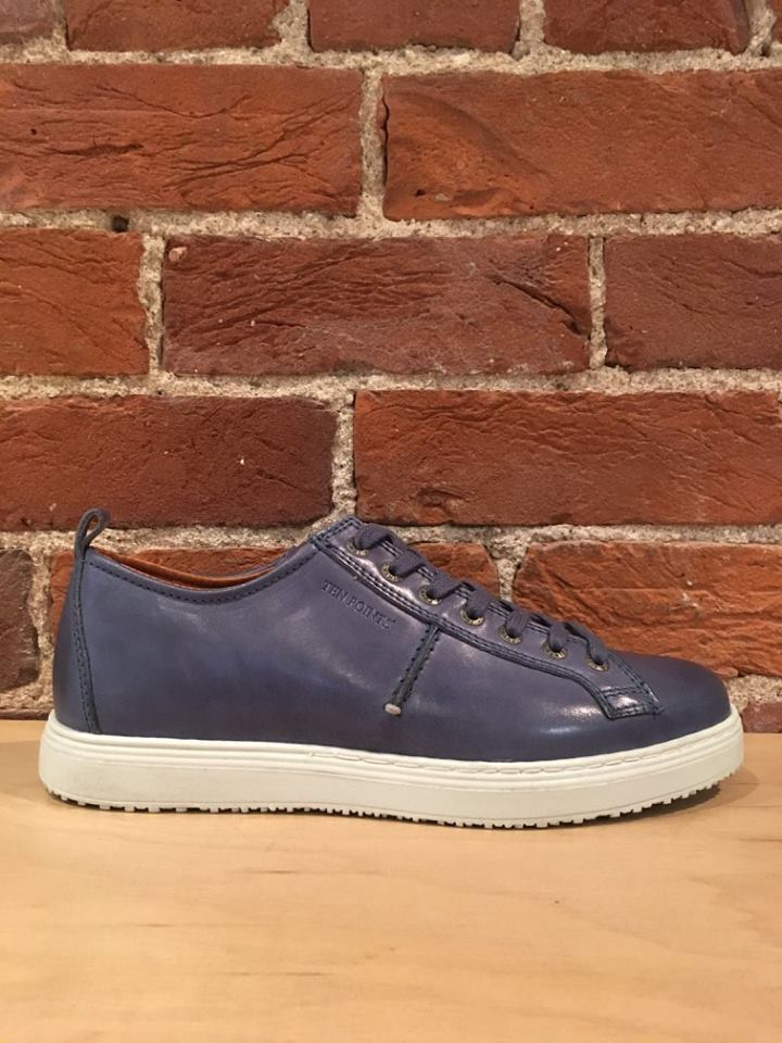 TEN POINTS - AGATHON 7 EYE SNEAKER IN BLUE