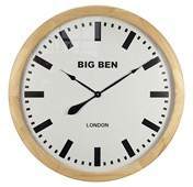Big Ben MDF Wall Clock Wood
