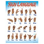 T 38039 SIGN LANGUAGE CHART
