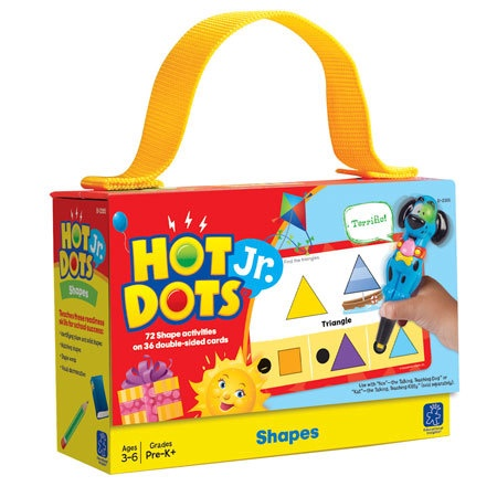EI 2355 HOT DOTS JR. SHAPES