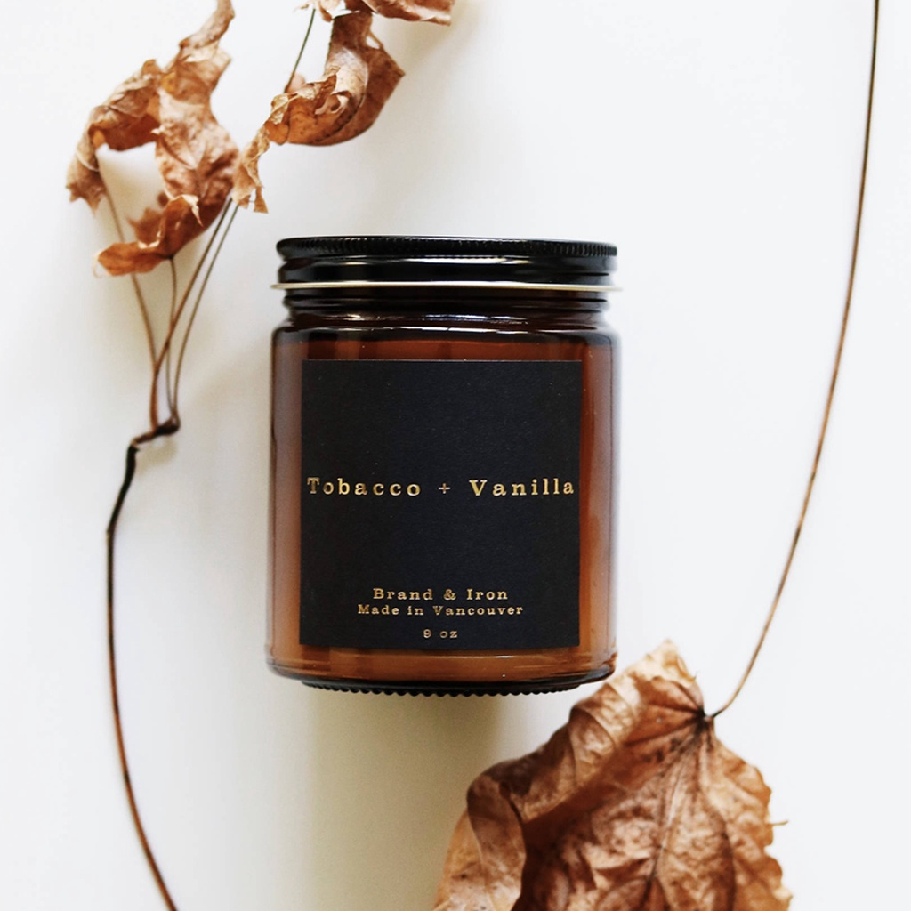 Soy Candle (Brand & Iron)