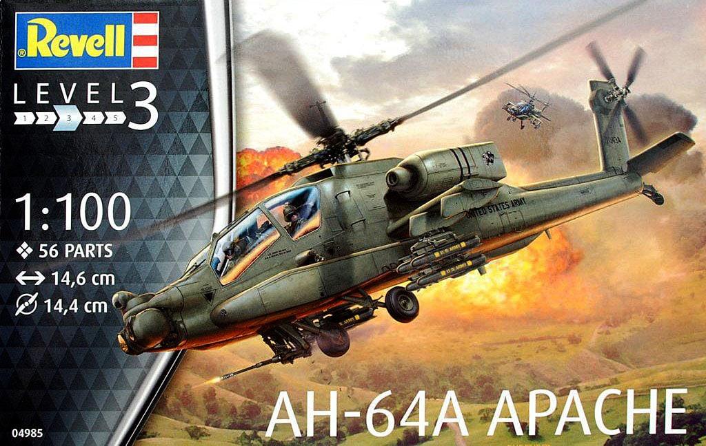 Revell #04985 1/100 AH-64A Apache