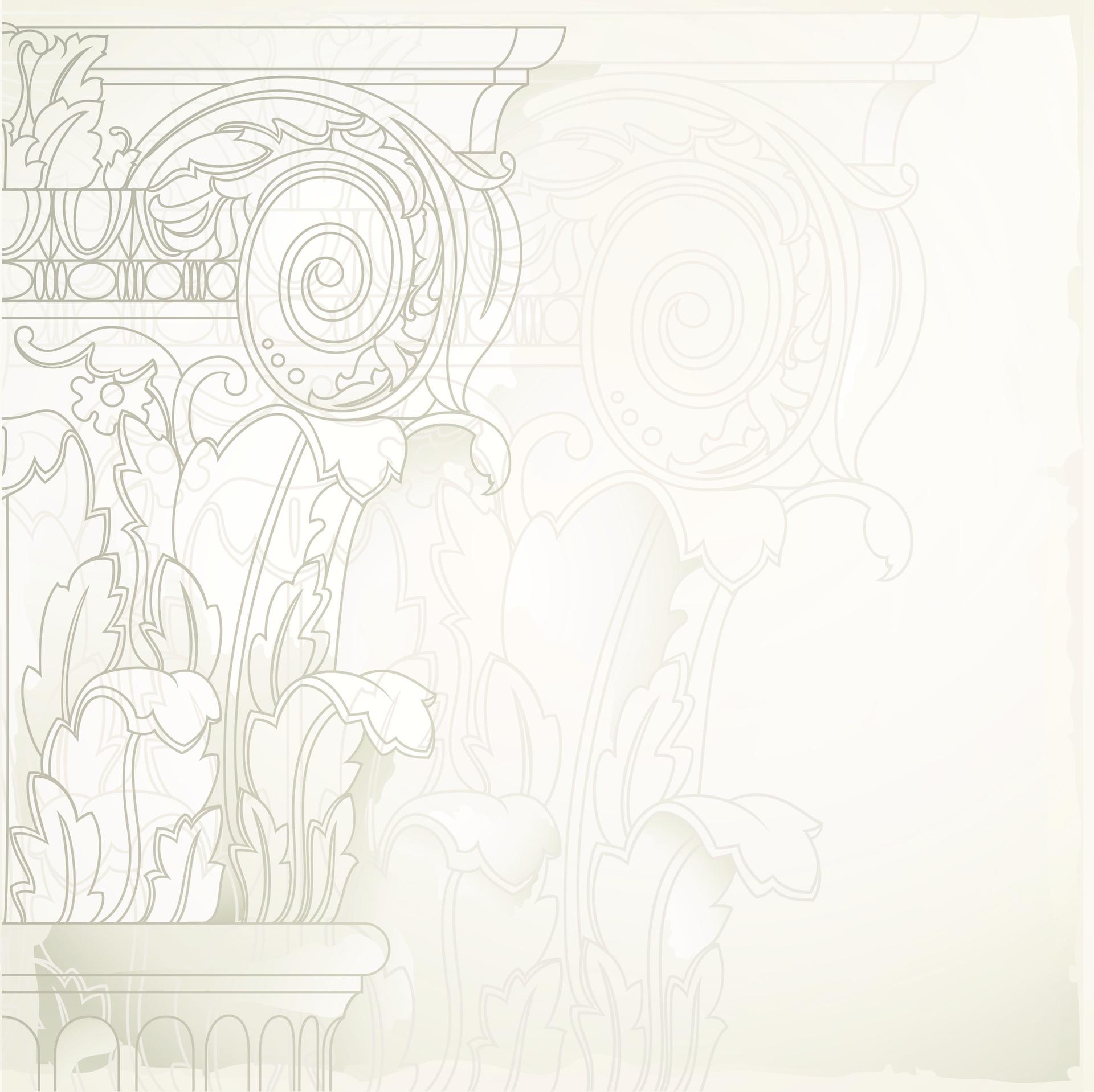 Paper Placemats - Pillar (Sq) 348mm x 348mm
