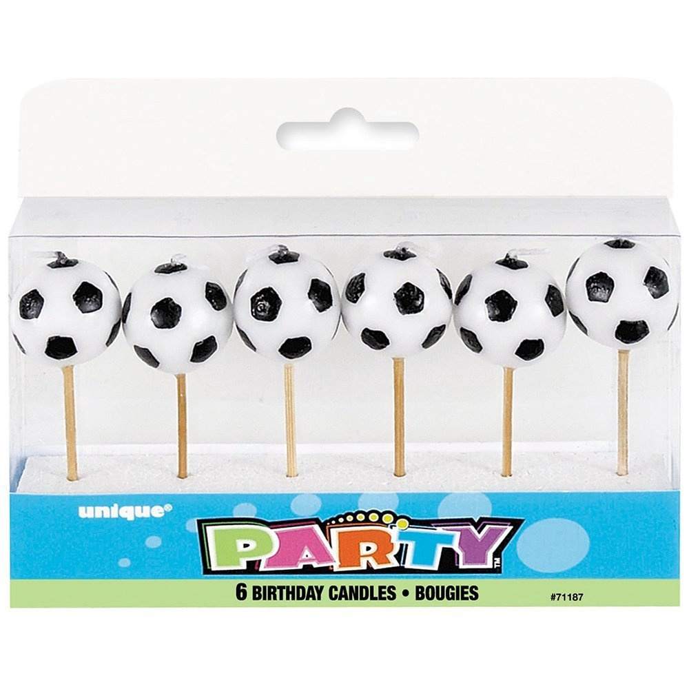 SOCCER PICK BIRTHDAY CANDLE