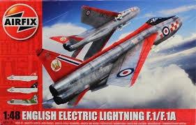 Airfix #A09179 1/48 English Electric Lightning F.1/F.1A