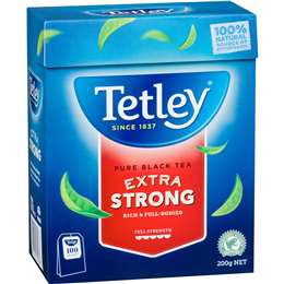 Tetley Extra Strong Tea Bags 100pk