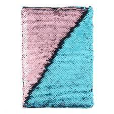 BLUE + PINK SEQUENCE NOTEBOOK