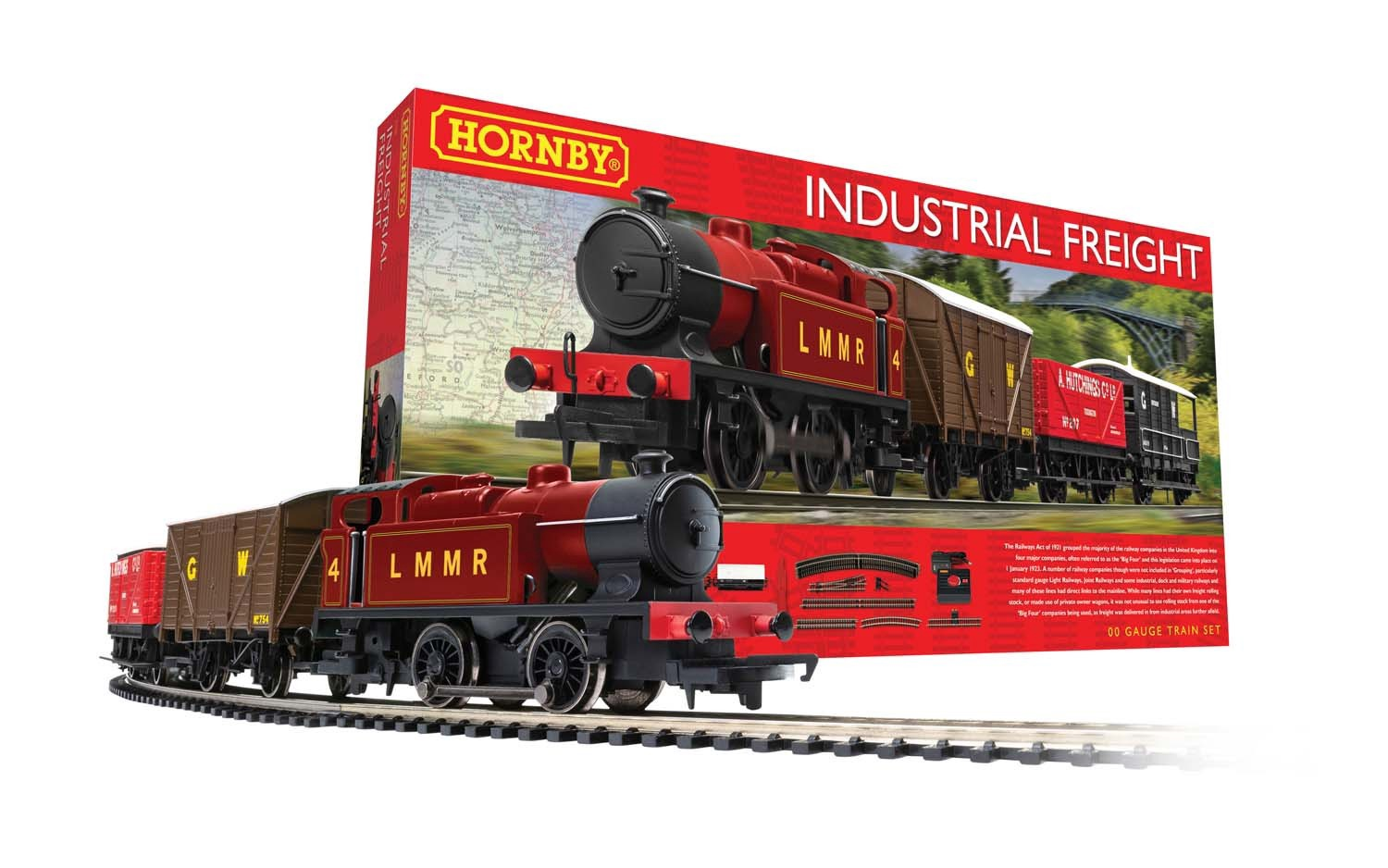 Hornby #R1228 Industrial Freight Train Set