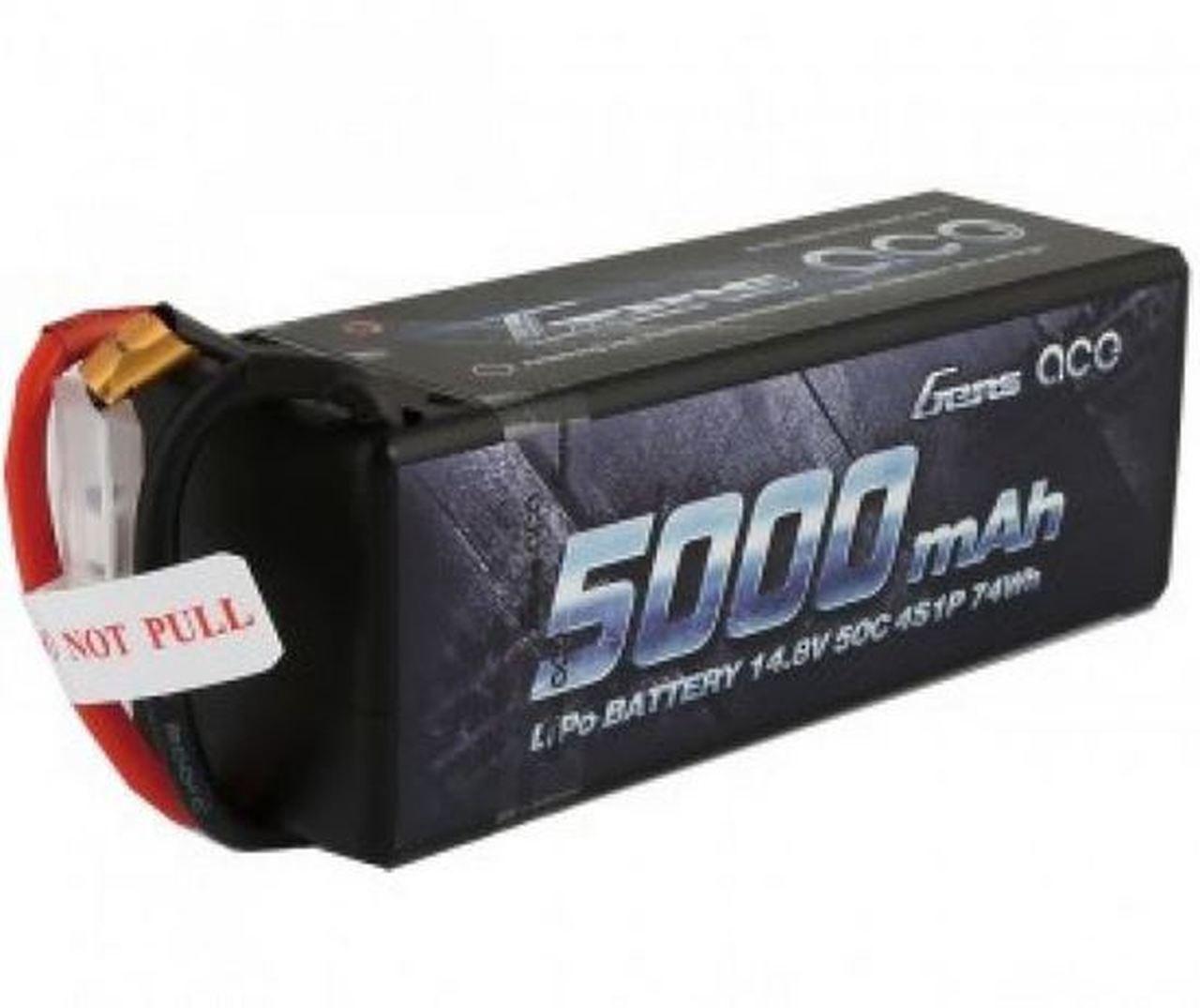 Gens-Ace #5000mah 4S 50C EC5 Plug Hard Case