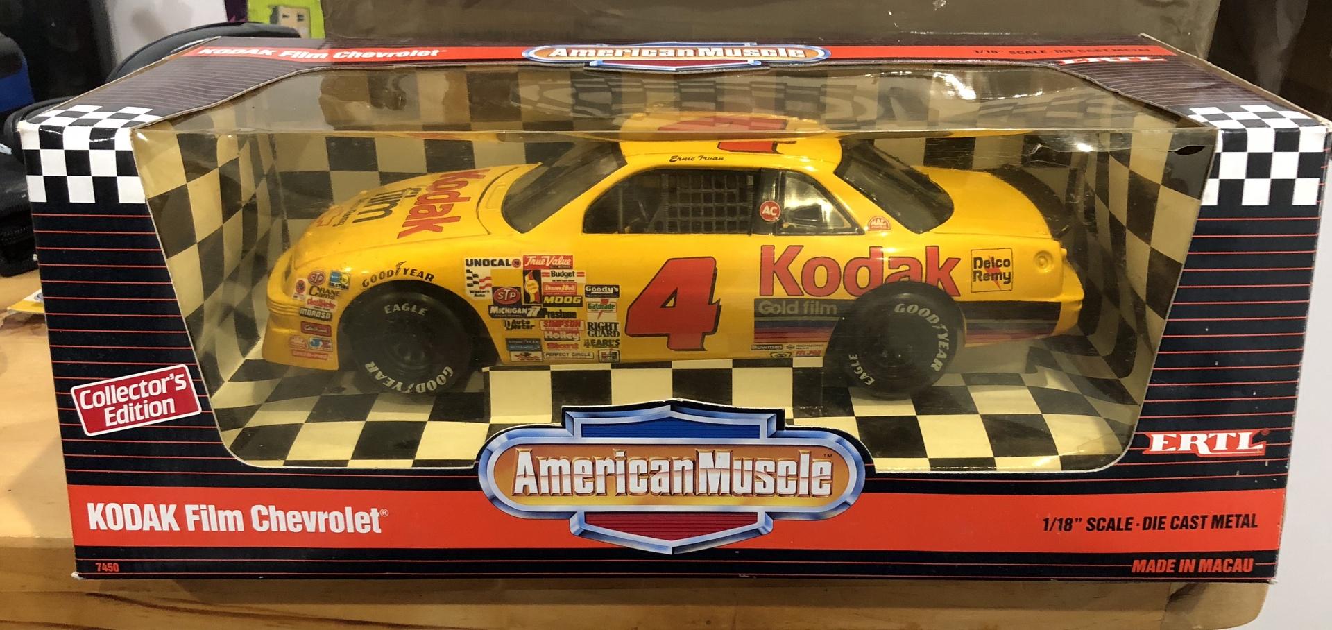 American Muscle # 7450  1/18 Kodiak Film Chevrolet