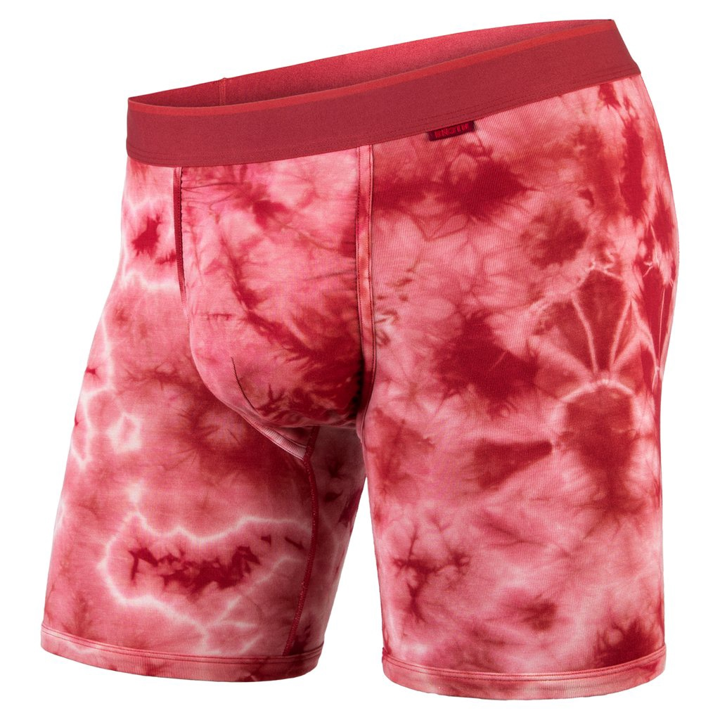 BN3TH - CLASSIC BOXER BRIEF IN SHIBORI CRIMSON