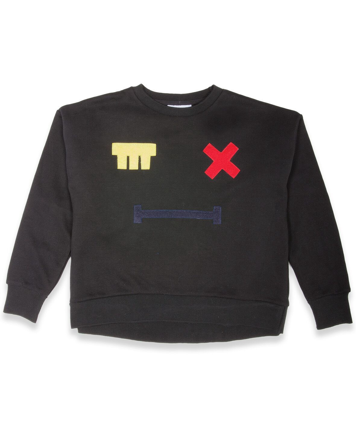 BOB Jumper Cross Eye Patch Black