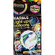 ILLOOMS MARBLE BALLOONS 5