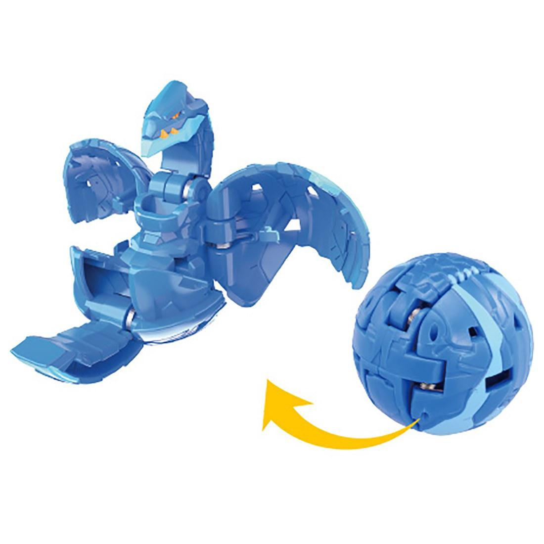 BAKUGAN BP BASIC 019 SERPENTEZE BLUE