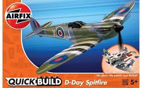 Airfix #J6045 Quick Build D-Day Spitfire