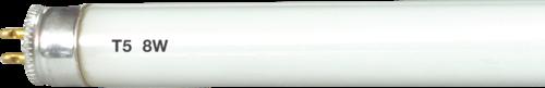 230V 8W T5 Fluorescent Tube 300mm Cool White 3500K
