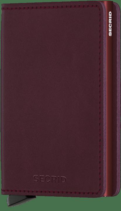 SECRID - SLIMWALLET IN ORIGINAL BORDEAUX