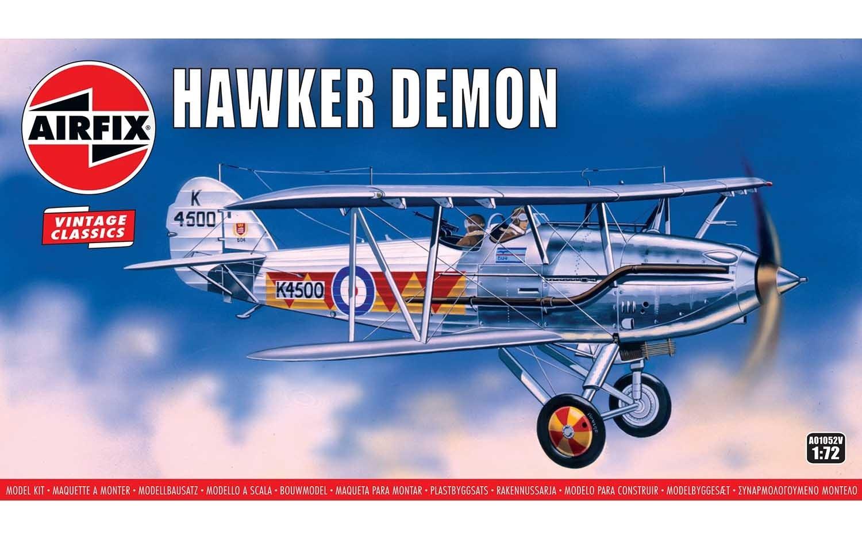 Airfix #A01052V 1/72 Hawker Demon-Vintage Classics