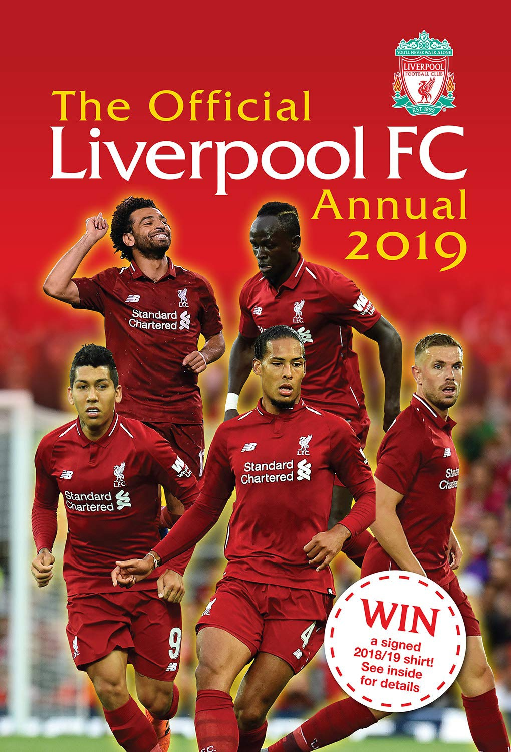 OFFICIAL LIVERPOOL FC ANNUAL 2019 (HB)
