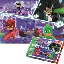 PJ MASKS IN ACTON PUZZLE 100 PCS