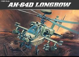 Academy #12268 1/48 AH-64D Longbow