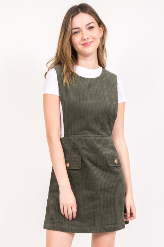 Cord Jumper w Pockets on the Front