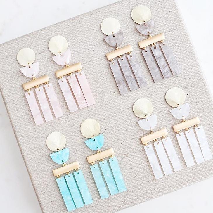 Bristol Earrings | Blush