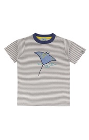 Applique sting ray t-shirt