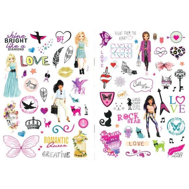 Top Model Stickers.Silvergull Home Children Gourmet Foods