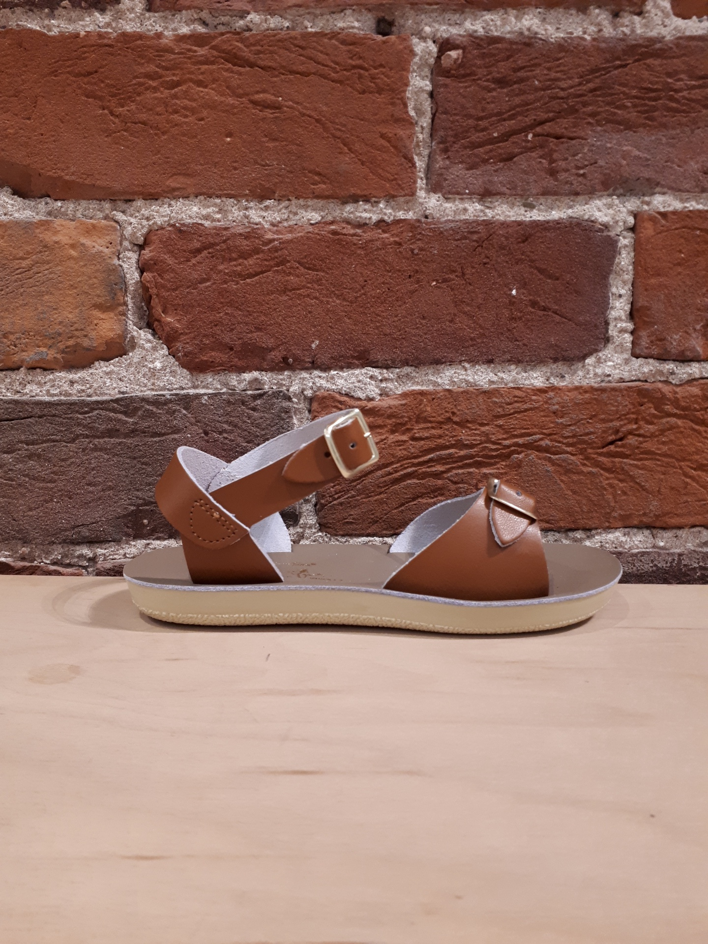 SALT WATER SANDALS - SURFER IN TAN (13-3)