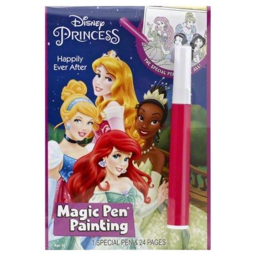 PRINCESS INVISIBLE INK BOOK