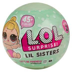 LOL SURPRISE! DOLLS SERIES 2 LIL SISTERS BALL