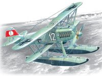 ICM #72192 1/72 Heinkel He 51b-2 Floatplane Fighter