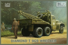 IBG Models #72020 1/72 Diamond T969 Wrecker