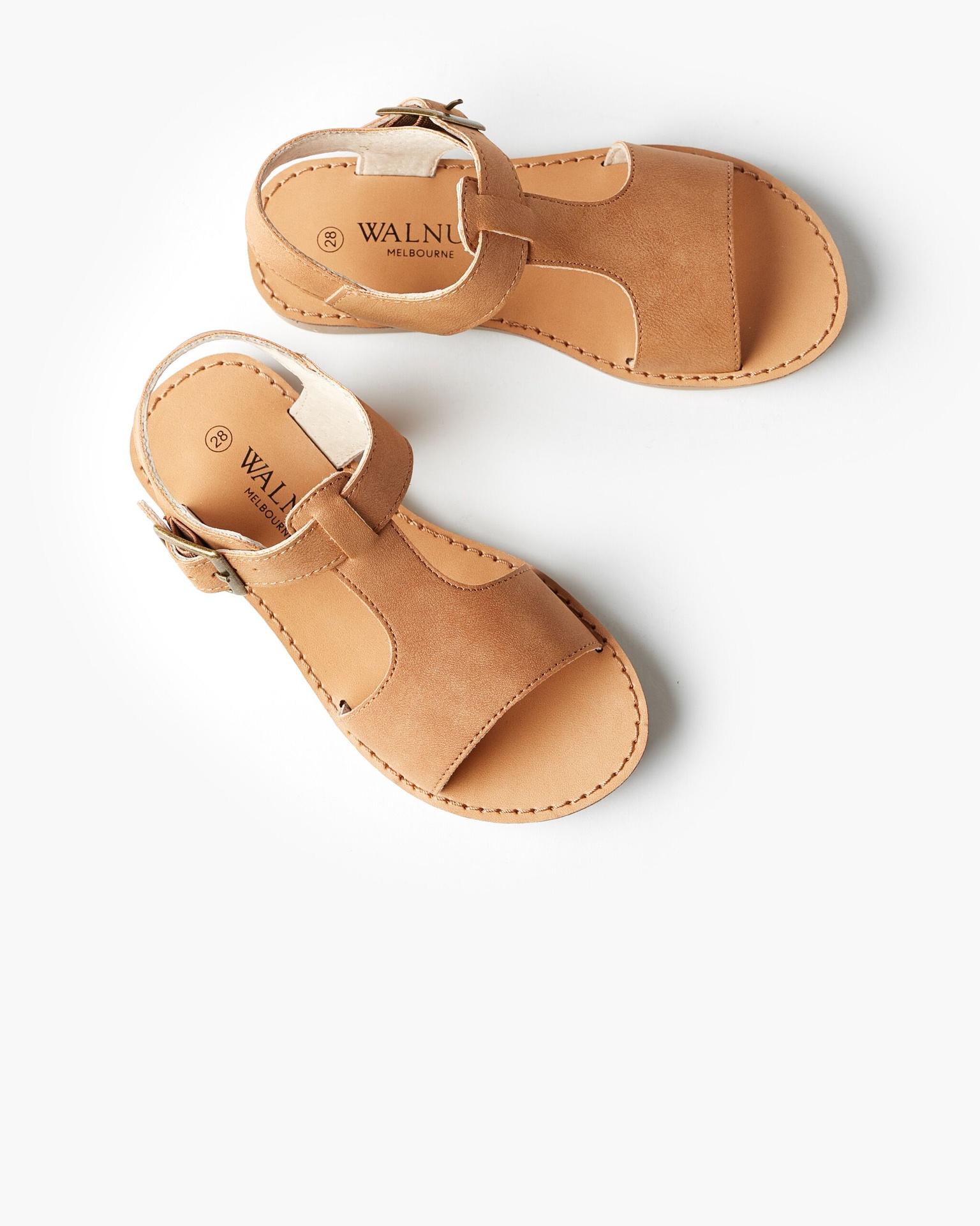 Walnut Racer Sandal Tan