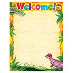 X T 38493 DISCOVERING DINOSAURS WELCOME CHART